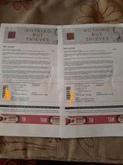 2 билета в фан-зону на Nothing But Thieves во Львове 09.04